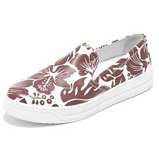 86223 mocassino PRADA SPORT NAPPA ST IBISCUS scarpa donna loafer shoes women