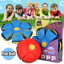 Novelty Magic Frisbee Ball Flying UFO Flat Throw Disc Kids Outdoor Toy Park Game