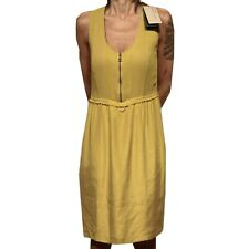 83221 vestito BURBERRY BRIT SETA abito donna dress women