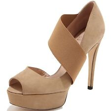 86134 decollete spuntato STUART WEITZMAN STRETCHY scarpa donna shoes women