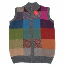 8973M gilet uomo ALTEA smanicato patchwork smanicato sleeveless men