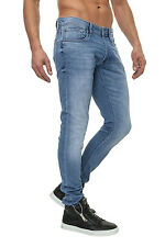 Jack & Jones Herren Slim Fit Jeans Jeanshose Jogginghose Hose Knit Herrenhose %