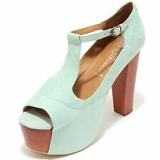 3319I decollete spuntato donna JEFFRY CAMPBELL foxy suede scarpe shoes women