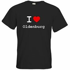 getshirts - Best of - T-Shirt - love - I love Oldenburg