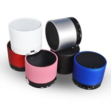 Tragbar Mini Bluetooth Lautsprecher Speaker f. MP3 PC Tablet Handy Micro SD DE