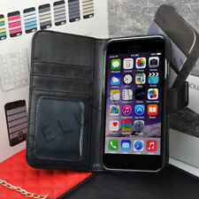 Premium Deluxe Quality Leather Flip Case Wallet Cover For iPhone Models