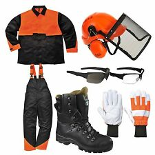 Chainsaw PPE Safety Kit - Safety Helmet / Safety Boots / Safety Gloves