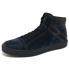 6472N sneaker HOGAN REBEL 206 scarpe uomo blu shoes men