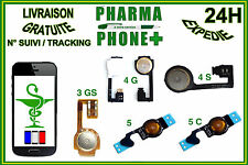 FLEX HOME BUTTON iPHONE 3G / iPHONE 4 4S / iPHONE 5 5S 5C - SEND WITH TRACKING