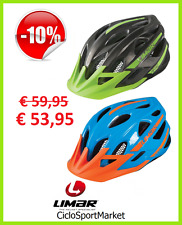 "Casco Limar 545 Ideale Per Mountain Bike MTB ""Titanium Green"" ""Blue Orange"""
