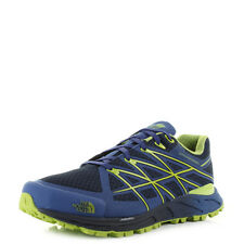 Mens Guys The North Face Ultra Endurance Cosmic Blue Macaw Green Trainer Sz Size