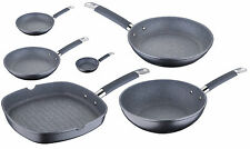 Masterpro Non Stick Frying Pan Teflon & Marble Coated Frying Pan Grill Wok