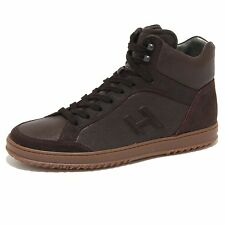 8444N sneaker HOGAN DERBY marrone scarpe uomo shoes men