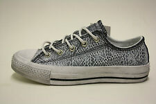 Converse All Star 547271C CT Ox Black/Powder Used Look Grau Schwarz Weiß Chucks