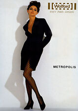 Wolford metropolis Strumpfhose Tights Collant Panty. BLACK & CASHMERE