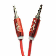 Aux Cable Coiled Genuine I-Mobile Audio Auxiliary Cable for Mi,Xolo,Vivo,Nokia.
