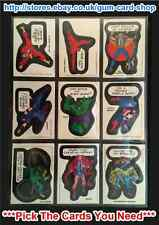 ☆ Topps - Comic Book Heroes 1975 (G) ***Pick the Cards You Need***