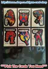 ☆ Topps - Comic Book Heroes 1975 (F) ***Pick the Cards You Need***
