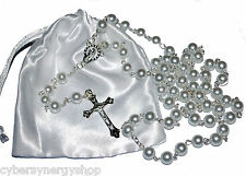 First Holy Communion Rosary Beads - 1st Communion Present  - Girls & Boys Gift