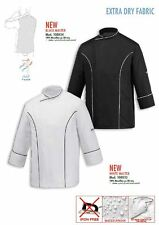 GIACCA CHEF CUOCO BLACK WHITE MASTER EGOCHEF EXTRA DRY MADE IN ITALY JACKET COOK