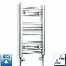 300mm Wide 600mm High Straight Chrome Heated Towel Rail Radiator Bathroom Rad