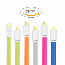 Genuine Micro USB Data Cable 1M Flat Open USB Data sync and Chargeing Cable
