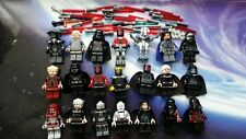 STAR WARS Minifigures Darth Sidious Vader Maul Revan & Kylo Ren with Lego Saber