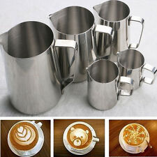 Kitchen Craft Espresso 350ML Stainless Steel Coffee Frothing Milk Latte Jug BC