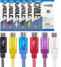 High Speed Micro USB data sync and charging cable for Power bank,Headphone.