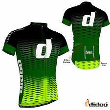 Didoo New Men's Cycling Short Sleeve Outdoor Sports Jersey Top Bike Team Wears