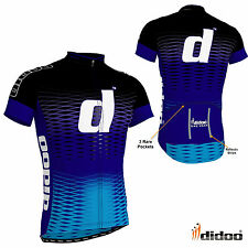 New Men's Team Cycling Half Sleeve Jersey Reflective Shirts Bike Sports Wear Top