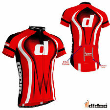 New Men's Cycling Jersey Half Sleeve Top Reflective Shirts Bike Racing Clothing