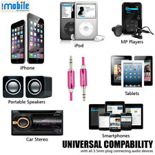 Aux cable for Sony Mobile,I-Mobile Aux/Auxiliary Male to Male audio Aux cable