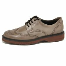 67257 scarpa HOGAN H 217 ROUTE DERBY  VINTAGE uomo shoes men