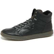 2028O sneaker HOGAN DERBY MID CUT nero scarpe uomo shoes men