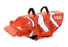 Life jacket for Dog - Fish - XS - M High flotation - rescue handles - adjustable