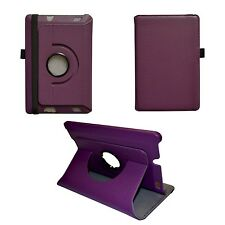 Viola PU pelle rotazione 360° Custodia per Amazon Kindle HDX FIRE 7 ""