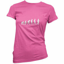 Evolution Of Man Huevo y Cuchara - Mujeres / camiseta - Deportivo Day - Escuela
