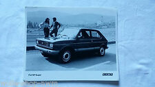 FIAT 127 / SUPER / Alkoholmotor Bild photo automobil Oldtimer Oldies Presse Foto