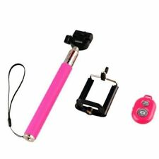 Monopod Selfie Stick Telescopic Bluetooth Wireless Remote Mobile Holder
