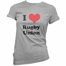 I Love Rugby Union - Mujer / camiseta mujer - Ropa - Jersey - Camisa