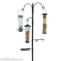 ✔ Deluxe Wild Bird Feeding Station Hanging Nut Feeder Fat Ball & Seed Feeders ✔