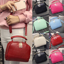 New Fashion Handbag Shoulder Bag Lady Tote Purse PU Leather Women Messenger Bag