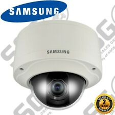 Samsung SNV-3082P WDR Vandal-Resistant High Res IP Network Dome CCTV Camera