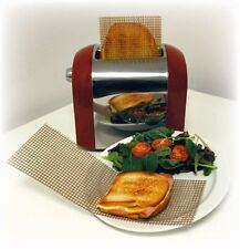 Reusable mesh Toast Bags Toastie Sandwich Pockets Toaster Toasty Toastabags bag