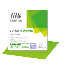 Lille Supreme Disposable Shaped Pads for Men (Choose Absorbency)