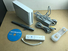 Nintendo Wii console bundle - TESTED/WORKING UK PAL