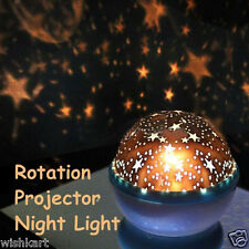 Dream Rotating Projection Lamp Stars Moon Night Lamp Emergency led Bulb Lantern