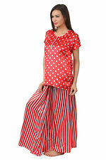 Fasense Exclusive Women's Imported Satin Nightwear Sleepwear Top & Lungi RR031 A