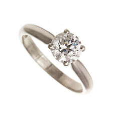 18ct White Gold 1ct Solitaire Diamond Engagement Ring